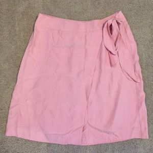 Ann Taylor Loft 6 Tied Wrap Skirt